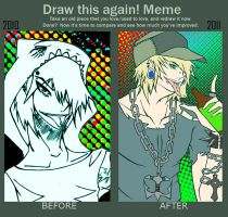 Draw this again meme :: G6 by HastyLion