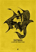 Batman Typography by kodychristian