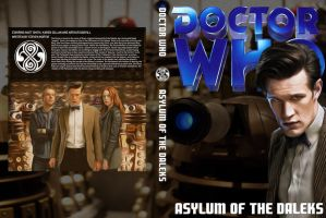 Doctor Who Asylum of the Daleks Cover V.2 by HaddonArt