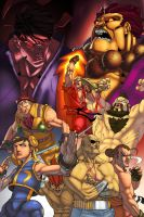 Shaun's Street Fighter Alpha by pixelisedmind