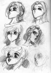 Drawing manga heads 05 by Popgrafix