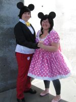 Fanime 2010 - Mouse couple by Cosphotos