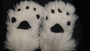 Fursuit Handpaws by PeaceWolfCreations