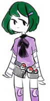 poorly designed pokemon trainer-sona by softprince