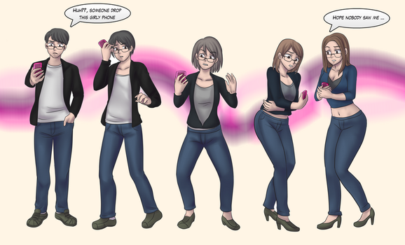 Tg cellphone Sequence commission by Rezuban