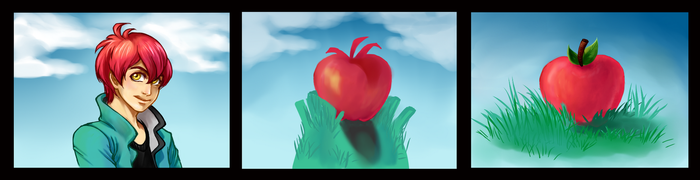 Transformation Challenge: Apple to apple by Silver-Solace