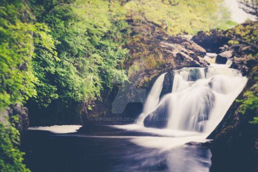 Small waterfall by ViperKid89