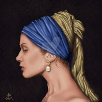 Modern Vermeer by Annezon