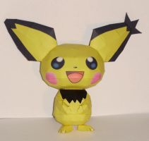 Pichu Papercraft by Skeleman