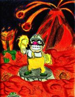 Fire Wario! by FireWario