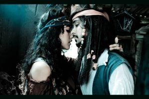 Angelica Teach and Jack Sparrow - tango version by BabiSparrow