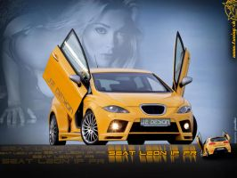 Tuned car Seat Leon FR by TuningmagNet