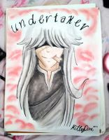 Undertaker Love- a makeup painting by TheUndertakersKitty