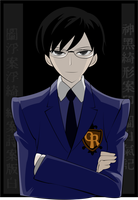 +Ouran HS Host Club+ Kyoya by SethlansKing