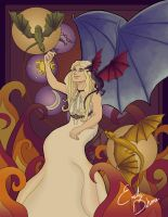Mother of Dragons by Phazyx