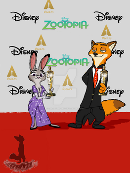 oscars 2017 zootopia   by troodont
