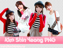 Kim Shin Yeong PNG Pack by Daniaedition