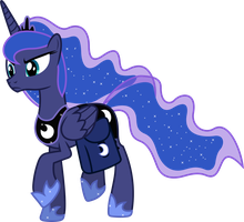Angry Princess Luna (1) by 90Sigma
