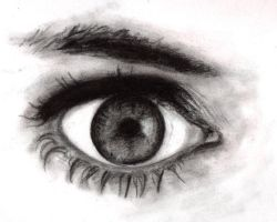Eye sketch by LittleMissEvil