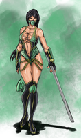 mk's Jade speed paint by monkeydonuts246
