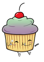 Cupcake Monster by Peapup