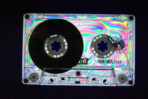 Funky Cassette Tape by digita1Light