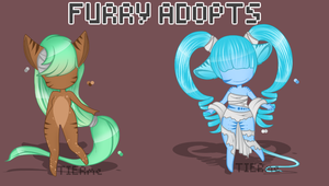 Furry Adoptables by Tierme