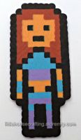Teen Titan Starfire Perler by LittleHouseCrafting