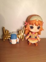 Chibi Rei Mii and Lanstag Figures by JRMzoids
