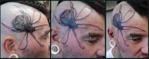 Tattoo - M12 - Spider by BooBelle