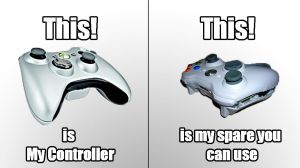 My controller by GGgamertime