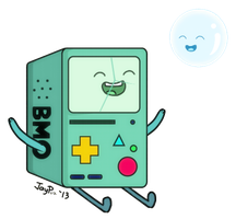 BMO + Bubble by heeyjayp17