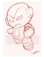 TOYART_SKETCH1_IRONMAN by CrisDelaraArt