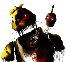Nightmare Chica by ShooterSP