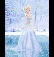 Elsa in Alfred Angelo Dress by AN-ChristianComics