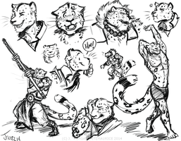 COMMISSION: Tsarin Sketches by Rehgan