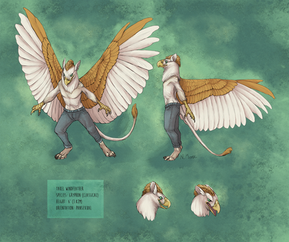 Commission: Takel Ref Sheet by tashcrow