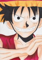 Monkey D Luffy from One piece for RPGprodigy by Hinamai-chan