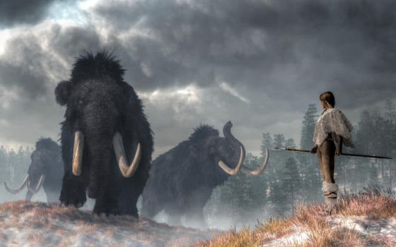 Facing the Mammoths by deskridge