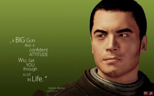 ME Wallpaper - Kaidan by pineappletree