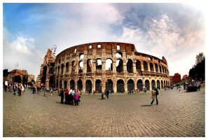 Colosseum by Jadedinc