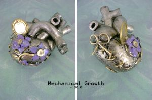 Mechanical Growth - Front by monsterkookies