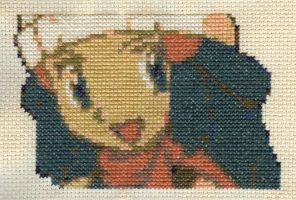 X-Stitch Fanart- Antique Dawn by missy-tannenbaum