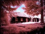 Fairy Tale House infrared by MichiLauke