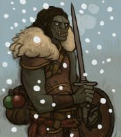 Skyrim Orc by atomicman
