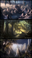 Landscapes Practice by Lynayru