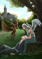 The moment of rest by sionra
