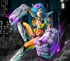 Vi Neon Strike by Karolykan