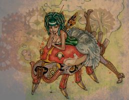 Steam Punk Fairy by Selkie33