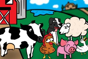 Farm Animals by bobpatrick7